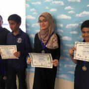 Winners for Arabic Spelling Bee – 2015